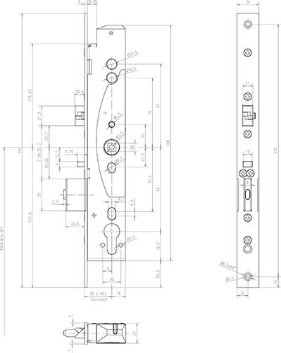Zamek-Mediator-do-drzwi-wpuszczany-schemat