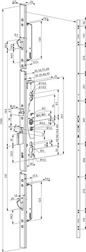 zamek-listwowy-do-drzwi-aluminiowych-schemat